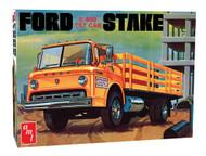 AMT 1/25 Ford C600 Tilt Cab Stake Bed Truck Model Kit - 650