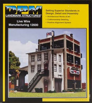 DPM Design Preservation Models HO Scale Kit Live Wire Manufacturing - 12600