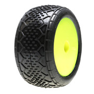 "Losi 2.2"" BK-Bar Tires, White, Mounted(2) ~ A17371W"