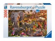 Ravensburger African Animals 3000 Piece Jigsaw Puzzle - 17037
