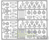 Detail Master Black Cam Type Racing Harness Car Model Kit Accessory - 2261