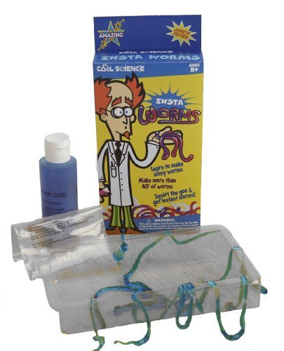 Be Amazing Toys Insta-Worms Cool Science Kit - 5835