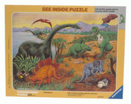 Ravensburger See Inside Dinosaurs 33 Piece Kids Puzzle - 06634