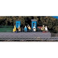 Bachmann HO Scale Sitting Passengers Figures Set - 42342
