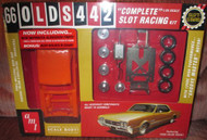 Auto World AMT 1/25 1966 Olds 442 Slot Car Kit - SCAMT785
