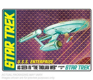 AMT 1/650 Star Trek USS Enterprise Tholian Web Edition Model Kit - 695