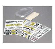 Losi 8IGHT 2.0 EU Buggy Body, Mask, Stickers ~ A8093
