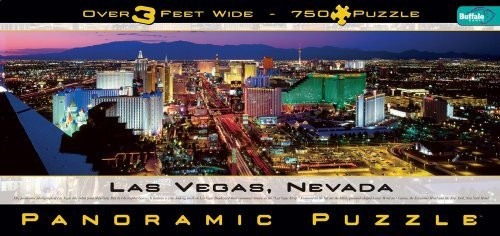 Buffalo Games Las Vegas Panoramic 765 Piece Jigsaw Puzzle - 14006