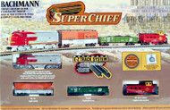 Bachmann N Scale Super Chief Train Set - 24021