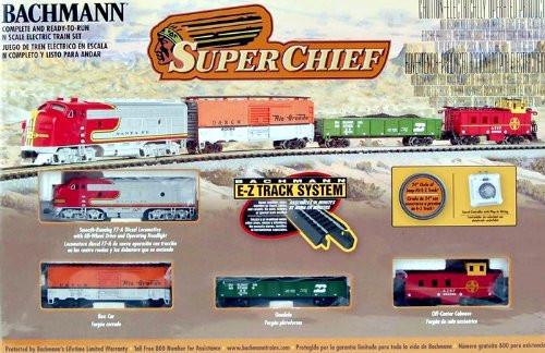 Bachmann N Scale Super Chief Train Set - 24021