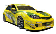Aoshima 1/24 2007 Subaru GRB Impreza WRX STI 5 Door Rally Version Car Model Kit -  - 050552