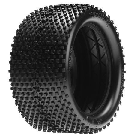 Team Losi 1/8 Truggy-XTT Tires, Blue w/Foam: 8ight (2) ~ A7780B