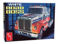 AMT 1/25 White Road Boss Truck Model Kit - 648