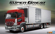 Aoshima 1/32 Mitsubishi FUSO Reefer Truck with Side Cargo Doors Truck Model Kit - 005583 (NEW! - Arrives in April)