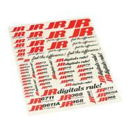 JR Air Servo Decal Sheet ~ A962