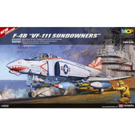 Academy 1/48 F-4B VF-111 Sundowners Airplane Model Kit - 12232