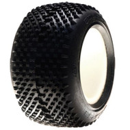 Losi 320 Series Eclipse Tire w/Inserts(2), Red ~ A7688R