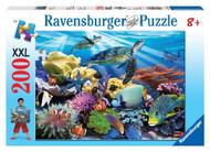 Ravensburger Ocean Turtles 200 Piece Kids Puzzle - 12608