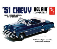 AMT 1/25 1951 Chevrolet Bel Air Convertible Car Model Kit - 608
