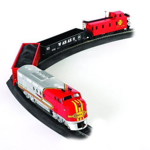 Bachmann HO Scale Santa Fe Flyer Train Set - 00647