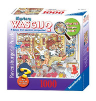 Ravensburger WASGIJ? Mystery Stop the Clock 1000 Piece Jigsaw Puzzle - 15971
