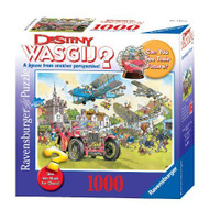 Ravensburger WASGIJ? Mystery Time Travel 1000 Piece Jigsaw Puzzle - 15975