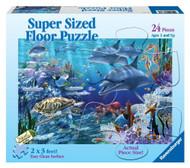 Ravensburger Sea Life 24 Piece Kids Floor Puzzle - 05330