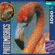 Buffalo Games Flamingo Photomosaic 1026 Piece Jigsaw Puzzle - 537