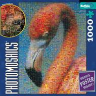 Buffalo Games Flamingo Photomosaic 1026 Piece Jigsaw Puzzle - 537