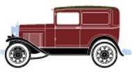 Athearn HO Scale RTR Ford Model A Delivery (Burgundy) : 26387