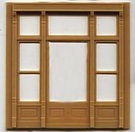 DPM Design Preservation Models HO Scale Modular System Street Level Victorian Window (4 Pieces) - 30142