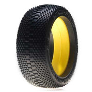 Losi 1/8 King-Pin G2 Buggy Tires with Insert, Red (2) ~ A7776R