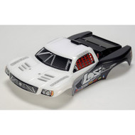 Losi 1/24 4WD Short Course Painted Body, White ~ B1782