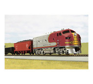 MTH HO F3 Freight Train Set, SF ~ 8140010