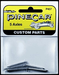 PineCar Derby Racers Nail Axles (5 Pieces) - 457