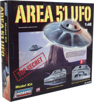 Lindberg 1/48 Area 51 UFO Model Kit - 91006