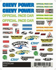 PineCar Derby Racers Dry Transfer Decals Stockcar - 317
