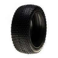 Losi 1/8 Blockhead G2 Buggy Tire w/Inserts, Red (2) ~ A7782R
