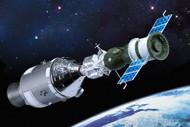Dragon 1/72 Apollo 18 & Soyuz 19 Spacecraft Model Kit - 11012