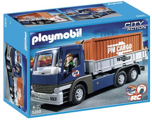 Cargo Truck with Container