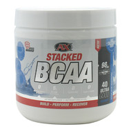 Athletic Xtreme, Stacked BCAA, Clear Blue Raspberry, 40 Servings