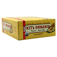 Clif Kit's Organic Fruit + Nut Bar, Cashew, 12 Bars - 1.62 oz/46 g per Bar