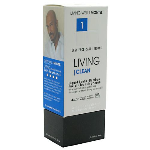 Cinsay, Liquid Loofa-Bamboo Facial Cleansing Scrub, 4 oz (118 mL)