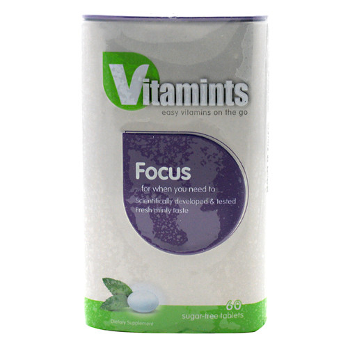 The Winning Combination, Vitamints Focus, 60 Tablets, 60 Tablets