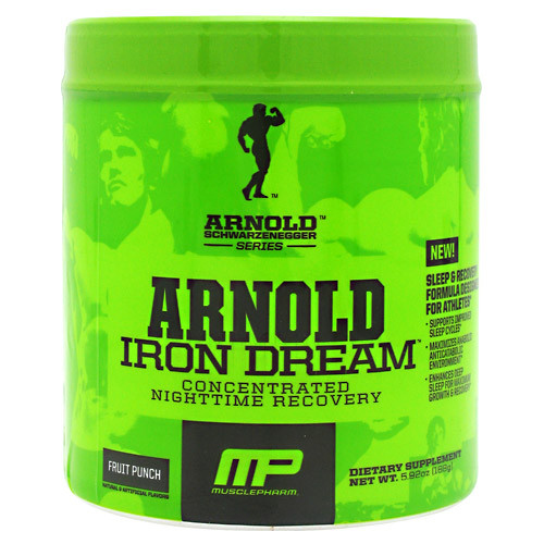 Arnold By Musclepharm, Iron Dream, Fruit Punch, 30 Servings