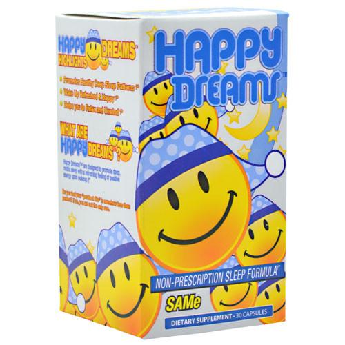 Brain Pharma, Happy Dreams, 30 Capsules, 30 Capsules