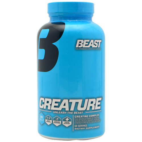 Beast Sports Nutrition, Creature, 180 Capsules, 180 Servings