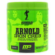 Arnold By Musclepharm Iron Cre3, Blue Razz, 30 Servings