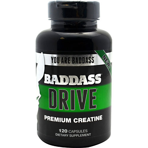 Baddass Nutrition, Baddass Drive, 120 Capsules, 120 Capsules