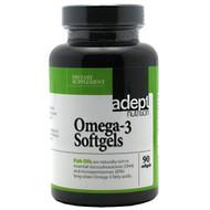 Adept Nutrition, Omega-3 Softgels, 90 Softgels, 90 Softgels
